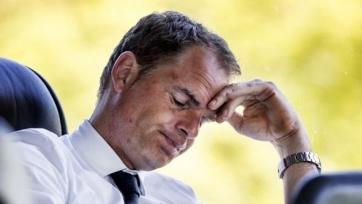 Де Бур: «Мне было необходимо больше времени, чтобы реализовать свои замыслы»
