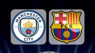 «Ман Сити» - «Барселона», прямая онлайн-трансляция. Стартовые составы команд