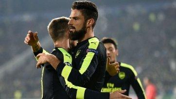 «Арсенал» переиграл «Лудогорец», проигрывая в два мяча по ходу матча