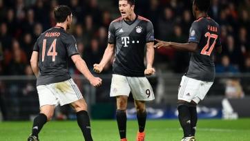 «Бавария» на выезде заработала три очка в матче с ПСВ