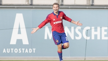 ЦСКА разгромил «Монако» в рамках юношеской Лиги УЕФА