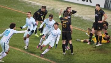 Дубль Жулиано принёс «Зениту» победу над «Дандолком»
