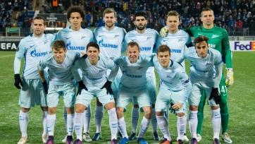 Матч против «Дандолка» стал для «Зенита» 150-м в еврокубках