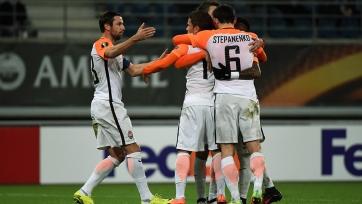 «Шахтёр» снова забил пять голов «Генту», «Брага» справилась с «Коньяспором»
