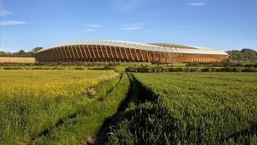Английский клуб построит стадион из дерева