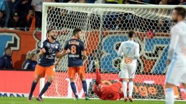 «Монпелье» уверенно переиграл «Марсель» в стартовом матче двенадцатого тура Лиги 1