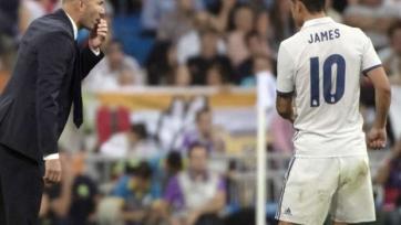 Хамес Родригес: «Зидан – босс, он решает, когда кому играть»