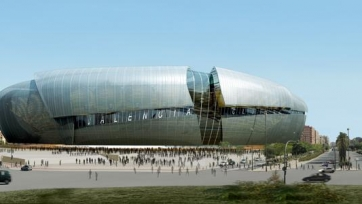 Новый стадион «Валенсии» не будет сдан в эксплуатацию к 2019-му году