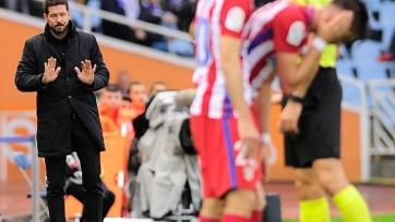 Диего Симеоне: «Мы проиграли по делу»