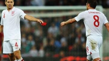 Тренерами сборной Англии станут Стивен Джеррард и Фрэнк Лэмпард?