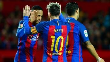 «Барселона» одолела «Севилью» в гостях