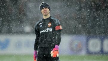 Акинфеев: «Сейчас ЦСКА действительно очень тяжело, но нужно с честью выходить из ситуации»