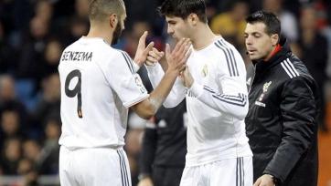 Роналдо: «Реалу» идёт на пользу конкуренция между Моратой и Бензема»