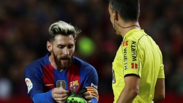 «Барселона» намерена подать ещё одну апелляцию по поводу жёлтой карточки Месси