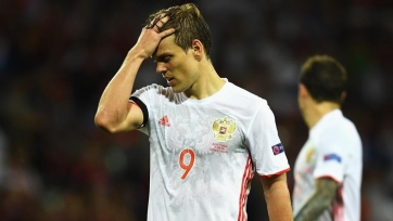 Сборная России терпит поражение в матче с Катаром