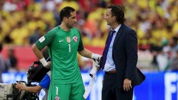 Клаудио Браво получил травму в игре за сборную Чили
