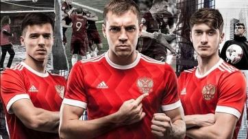 Adidas официально презентовал новую форму российской сборной