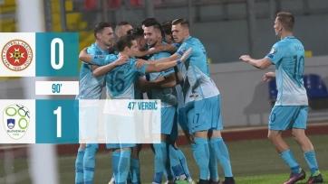 Словенцы обыграли в гостях Мальту
