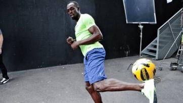 Усэйн Болт тренируется с «Боруссией» Д и планирует начать футбольную карьеру