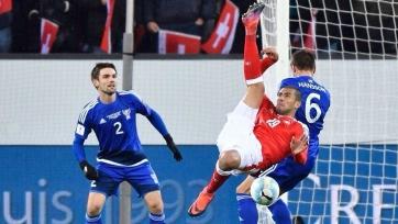 Швейцарцы забили два мяча Фарерам, Венгрия разгромила Андорру