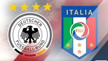 В матче сборных Италии и Германии протестируют видеоповторы