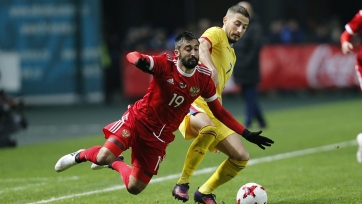 Сборная России вырвала победу в матче с Румынией