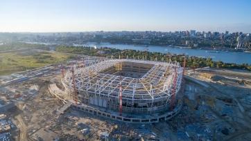 Губернатор области поручил достроить «Ростов-Арену» к ноябрю 2017-го года