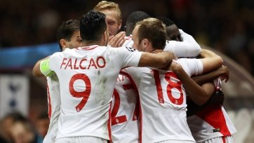 «Монако» гарантировал себе первое место в группе, переиграв «Тоттенхэм»