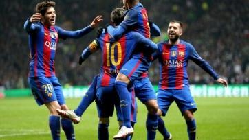 «Барселона» уверенно переиграла в Глазго «Селтик»