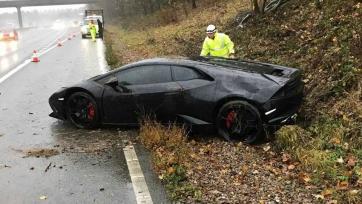 Защитник «Лестера» поразил полицейских своими словами после того, как разбил автомобиль стоимостью 223 тысячи евро