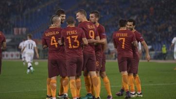 «Рома» пробилась в плей-офф ЛЕ