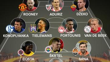 УЕФА опубликовал сборную 5-го тура Лиги Европы