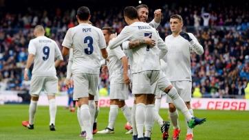Мадридский «Реал» одержал непростую победу над «Спортингом»