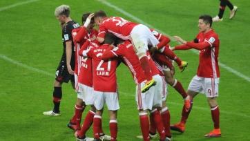 «Бавария» вырвала победу у «Байера»