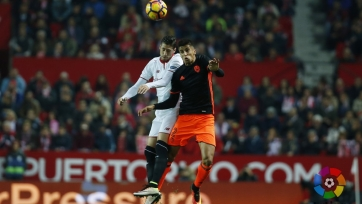«Севилья» вышла на второе место в чемпионате, обыграв «Валенсию»