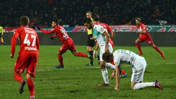 «Терек» опубликовал видео со спорными моментами матча против «Спартака»