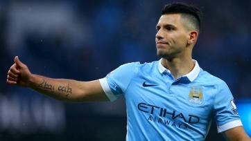Агуэро вышел на четвёртое место в списке лучших бомбардиров в истории «Манчестер Сити»