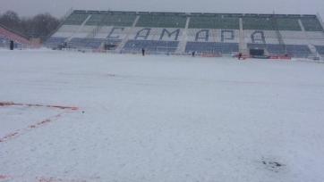 «Крылья Советов» и «Томь» сыграют на снегу