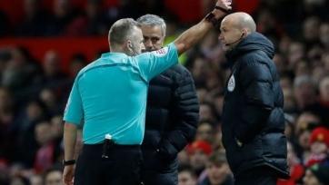 Моуриньо удалён в матче «Манчестер Юнайтед» - «Вест Хэм»