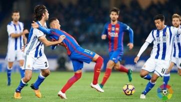 «Реал Сосьедад» так и не дожал «Барселону»