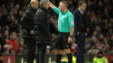 Грэм Полл призывает FA впаять Моуринью шесть матчей дисквалификации