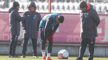 Левандовски травмировался во время тренировочного занятия