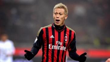 Кейсуке Хонда уйдёт из «Милана» в январе