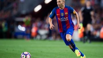 Андрес Иньеста сможет сыграть против «Реала»