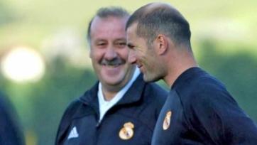 Дель Боске: «Никогда не видел, чтобы Зидан горел желанием стать тренером»