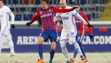 ЦСКА отправил два безответных мяча в ворота «Оренбурга»