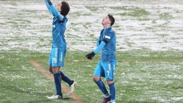 «Зенит» сумел вырвать победу у «Уфы»