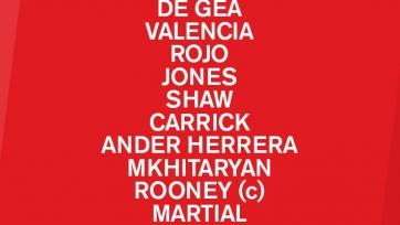«Манчестер Юнайтед» - «Вест Хэм», прямая онлайн-трансляция. Стартовый состав «МЮ»