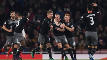 «Арсенал» покинул Кубок Лиги, проиграв «Саутгемптону»