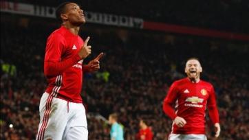 «Манчестер Юнайтед» пробился в полуфинал Кубка английской Лиги